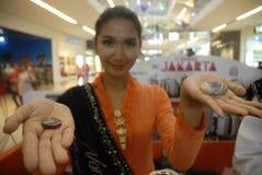DE HALFEDELSTEENkoorts VAN INDONESIË Stock Afbeeldingen