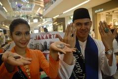 DE HALFEDELSTEENkoorts VAN INDONESIË Royalty-vrije Stock Fotografie