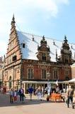De Hallen, place du marché, Haarlem, Pays-Bas Image libre de droits