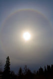 De halo van de zon royalty-vrije stock foto's