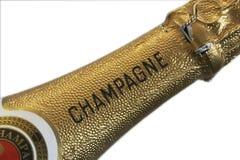 De hals van Champagne Royalty-vrije Stock Fotografie