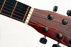 De hals van de gitaar Stock Foto