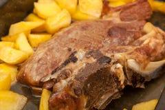 De hals van het braadstukvarkensvlees Stock Afbeelding