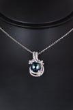 De halsband van de diamant Stock Afbeeldingen