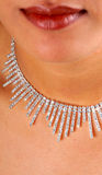 De halsband van de diamant Royalty-vrije Stock Afbeeldingen