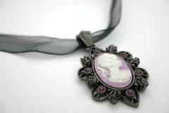 De Halsband van de kamee Royalty-vrije Stock Foto