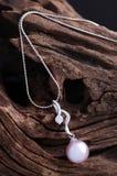 De Halsband van de parel Royalty-vrije Stock Afbeelding