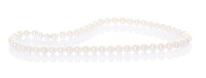 De halsband van de parel Stock Foto