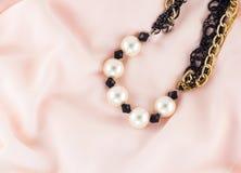 De halsband van de parel Royalty-vrije Stock Fotografie