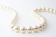 De halsband van de Parel. Royalty-vrije Stock Foto's