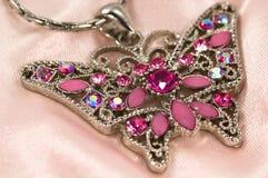 De halsband van de vlinder Royalty-vrije Stock Foto