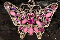 De halsband van de vlinder Royalty-vrije Stock Afbeelding