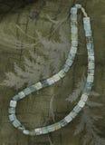 De halsband van het aquamarijn royalty-vrije stock foto
