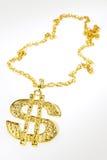 De halsband van het dollarsymbool Royalty-vrije Stock Fotografie