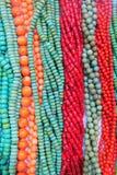 De halsbanden van de halfedelsteen Royalty-vrije Stock Foto's