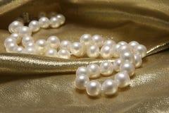 De halsbanden van de parel. Stock Foto's