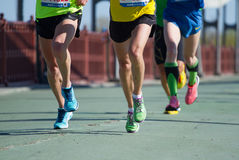 De halve marathon van Kyiv van novaposhta in Kyiv Royalty-vrije Stock Afbeeldingen