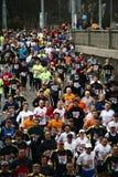 De Halve Marathon van Praag van Hervis Stock Afbeeldingen