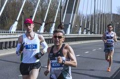 De Halve Marathon 2016 van Warshau Stock Afbeeldingen