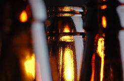 De halzen van de fles. Royalty-vrije Stock Fotografie