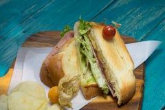 De ham van het sandwichschaak Royalty-vrije Stock Foto's