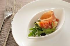 De Ham van Parma en Pomegrarate Royalty-vrije Stock Afbeeldingen