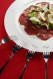 De ham van Parma met truffels Stock Afbeelding