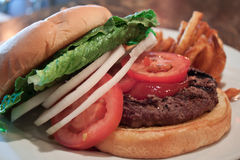 De Hamburger van buffels Stock Fotografie