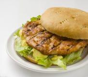 De hamburger van de kip Royalty-vrije Stock Afbeelding