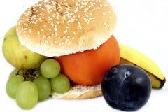 De hamburger van het fruit royalty-vrije stock afbeelding