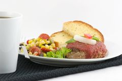 De hamburger van Turkije Royalty-vrije Stock Fotografie