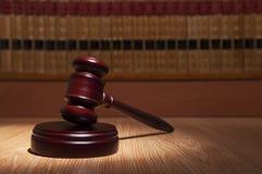 De Hamer van de rechter royalty-vrije stock afbeelding