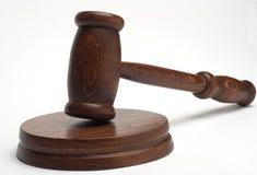 De hamer van de rechter Royalty-vrije Stock Foto's