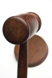 De hamer van de rechter stock foto