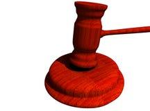 De hamer van de rechter Royalty-vrije Stock Fotografie