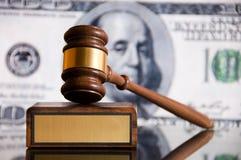 De Hamer van de rechtvaardigheid Stock Fotografie