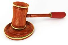 De Hamer van de wet Stock Illustratie