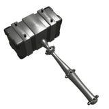 De hamer van het staal Royalty-vrije Stock Afbeeldingen