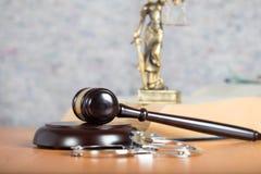 De Hamer van de rechter close-up stock foto's