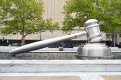 De hamer van rechtersColumbus stock fotografie
