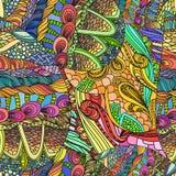 De hand drawned patroon Royalty-vrije Stock Afbeeldingen