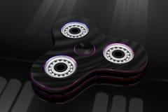 De hand friemelt spinnerstuk speelgoed - 3d illustratie Royalty-vrije Stock Foto's