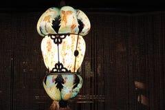 De hand Geblazen Lamp van de Glasopschorting Royalty-vrije Stock Foto