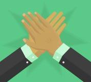 De hand geeft applaus Royalty-vrije Stock Afbeelding