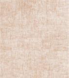 De hand geschilderde achtergrond van de linnenjute Stock Fotografie