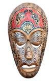 De hand sneed houten masker Royalty-vrije Stock Afbeeldingen