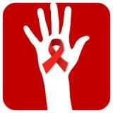 De hand van AIDS van het einde Royalty-vrije Stock Foto