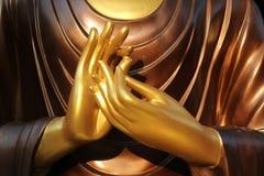 De hand van Boedha Stock Foto's