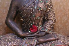 de hand van Boedha Stock Afbeelding