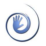 De hand van de hulp Stock Foto